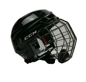 CCM Hockey Tacks 310 Helmet Combo Black Senior/Adult Size M