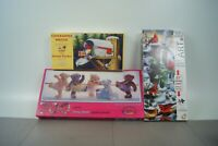 Lot of Three 3 New sealed puzzles  2 panoramic Teddy Bear ballet birds