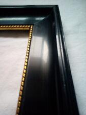 Sehr großer Schelllack Jugendstilrahmen um 1900 Goldinnerand 81,5 cm x 63,5 cm