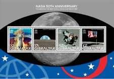 Gibraltar - NASA 50th Anniversary Apollo 11 - 4 Stamp Sheet Scott 1157