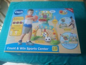 VTech Count & Win Sports Center Basketball Soccer Toddler Kids Learning Game Fun