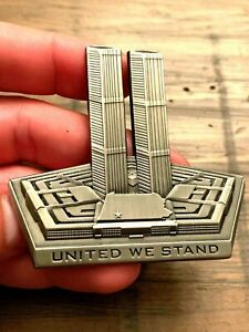 RARE Amazing Sold Out 9-11 Never Forget Odd Shaped Challenge Coin Ultra RARE