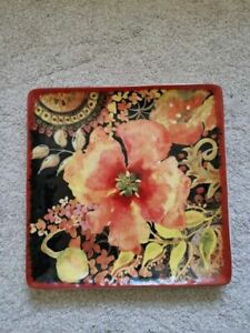 """Large 31cm by 31cm (1"""" x 1"""") fruit veg tray plate never used excellent condition"""