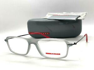 AUTHENTIC PRADA SPORT VPS 03E TIL-101 TRANSPARENT GREY 53-16-140MM Eyeglasses