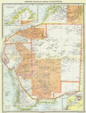 AUSTRALIA. Western, Goldfields; maps of Northern Continuation; Perth 1907