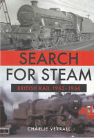 Search for Steam British Rail 1963-1966 Railway Trains Paperback Book