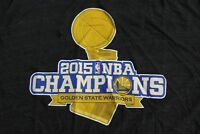 Golden State Warrior 2015 Champions Large TEE T SHIRT Soft Cotton