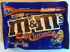 Caramel M&M's American Candy 272.2g Resealable Bag M&Ms USA Import