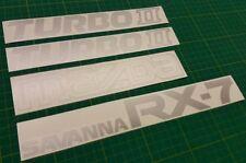 Mazda SAVANNA RX-7 RX7 restoration Decals Stickers 13B FC FC3S 1986-1991 JDM