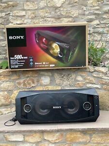 Sony GTK-X1BT Bluetooth speaker, 500W RMS, multi-coloured LEDs