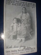 More details for old postcard laura standing bear buffalo bill wild west show 1903