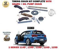 Per BMW 114D 116d 118d 120d 125d F21 2011 - > Timing CATENA + INGRANAGGI + POMPA OLIO KIT