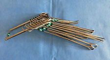 Lot of 9 Aesculap Misc Surgical Instruments Set
