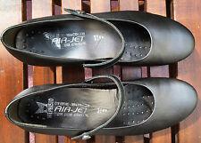 Superbes ballerines MEPHISTO cuir gris métallisé T. 40,5 Quasi neuves
