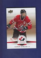 Aaron Ekblad 2014-15 Upper Deck Hockey Team Canada Juniors Gold Parallel #48