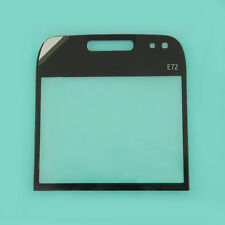 Black Front LCD Screen Lens Glass Cover Window Panel Replacement For Nokia E72