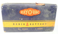 vintage * RAY-O-VAN type A BATTERY for old radios NO P 9403 / 3 VOLT - untested