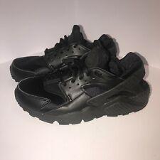 Nike Air Huarache Ultra Junior Zapatillas Talla 4.5 UE 38 BLACK ULTRA de aire RRP £ 55