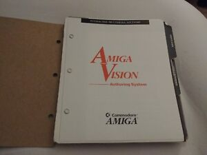 Amiga Vision Authoring System User Manual For The Amiga