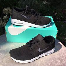 New In Box Genuine Nike SB Air Max Stefan Janoski 2 Black Trainers Size UK 12