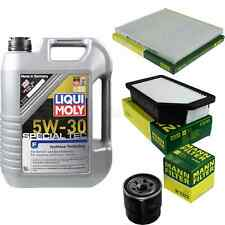 Inspection Kit Filter LIQUI MOLY Oil Oil 5L 5W-30 for Kia Rio III Ub 1.25 CVVT