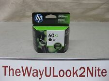 HP 60XL Black Ink Cartridge CC641WN Genuine New CC641W Mint Box Date: 2015