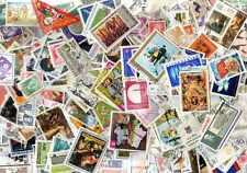 MONDE ENTIER 100000 timbres différents oblitérés tous pays