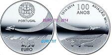 2,50  €     PORTUGAL    COMMEMORATIVE   2014      AVIATION      disponible