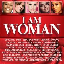 I AM WOMAN feat Beyoncé P!NK, Shania Twain, Samantha Jade & Dolly Parton 2CD NEW
