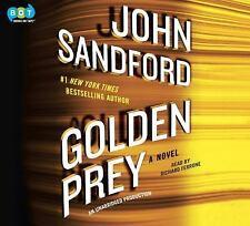 Golden Prey by John Sandford Unabridged Audio Book (2017, 9 CD's)
