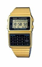 Casio Men's Retro Gold 25 Memory Calculator Data Bank DBC-611G-1D, DBC611G-1