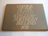 1978 Royal Mint United Kingdom and Northern Ireland UNC PROOF Coin Set!