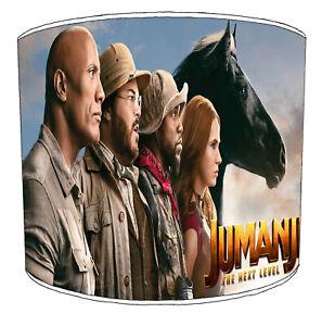 Jumanji Films Pantallas de Lámpara,Ideal a Juego Con Adhesivos Pared & Pegatinas