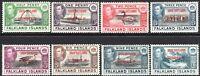 Falkland Islands Dependencies South Shetlands 1944 set of 8 mint SGD1---D8 (8)