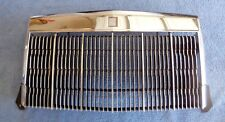 NICE Original Ford Factory 84-92 Mark VII CHROME Radiator Grille and Emblem