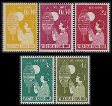 VIETNAM du SUD N°89/93** Festival enfance, 1958 South Viet Nam #83-87 Girl.. MNH