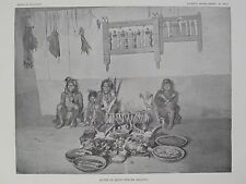 Zia Indian Pueblo New Mexico Alter Quer'-Ran-Na Society 1894 #2