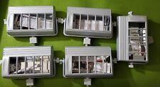 5 X Nora Lighting NTF2642T 26/32/42W Lamp Fluorescent Track Light Fixture SILVER