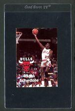 Michael Jordan 1985-86 ACE TRUE-VALUE HARDWARE SCHEDULE Very Rare Chicago Bulls