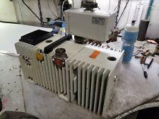 PFEIFFER DUO 016 B VACUUM PUMP W/ OIL MIST SEPARATOR ONF 025 265/460 VAC 16 m3/h