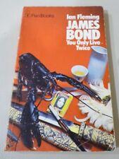 Ian Fleming JAMES BOND You Only Live Twice PAN pb 1974