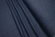 Jacquard Jersey Quilted look uni denim blue 0.54yd (0,5m)