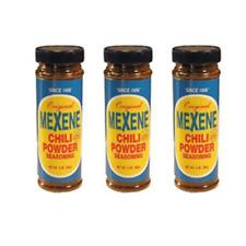 Mexene Chili Powder Seasoning 3 ounce Bottle (Pack of 3) Free Expedited Shipping