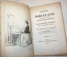 ARTE - Lefebvre: Peinture sur Porcelaine 1858 Pittura porcellana vetro, 1 tavola