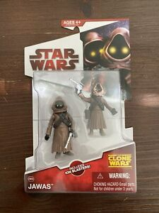 Star Wars The Clone Wars Collection - Jawas Hasbro 2009