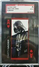 JAMES EARL JONES SGC Authentic Gold Ink Auto On Playing Card Darth Vader Signed