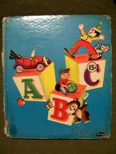 Whitman Tell-A-Tale ~ ABC (1956, Hardcover)