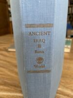 Ancient Iraq, Georges Roux 1964 HB 1st ed ex-lib