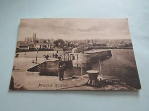 VINTAGE POSTCARD PENZANCE HARBOUR FRITH 40603 CORNWALL