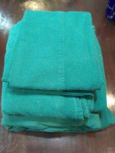 Dark Green Westpoint Stevens Flannel Sheets Set Full Size
